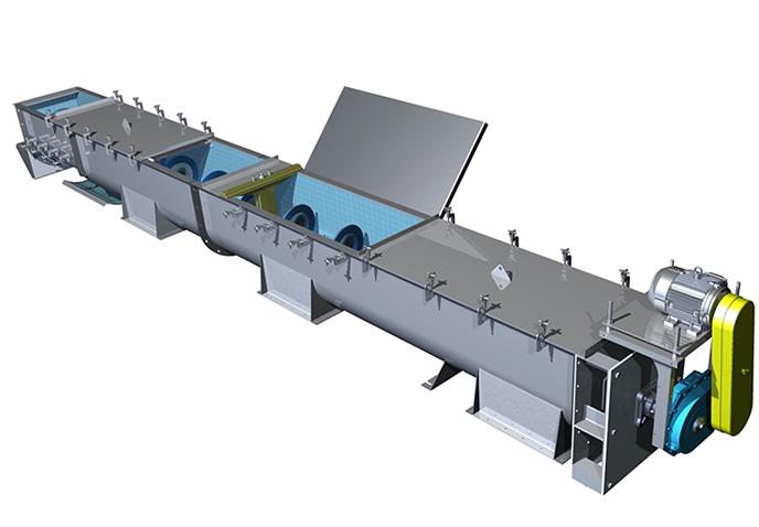 Screw Conveyor | Shafted Screw Conveyor Producer | Trough Screw